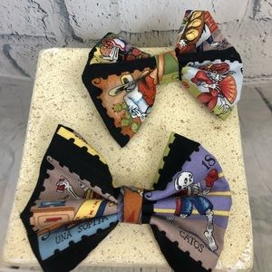 Hair bow day of the dead